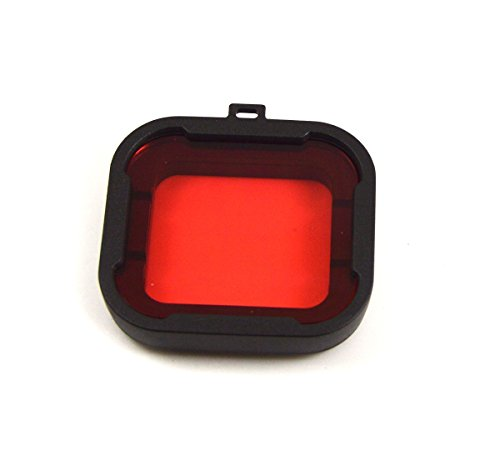 Filtro Top Elecs Glass para Kit Gopro Hero3 + buceo para Gopro Hero3 + rojo / amarillo / púrpura