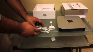 Unboxing y primera vista del Mac Mini con OSX lion