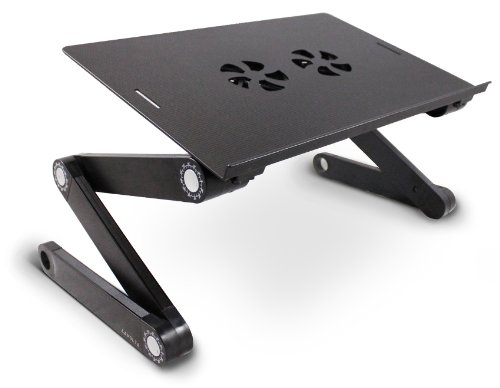 Lavolta Plegable Portátil Tabla Mesa Soporte con Base de refrigeración para Apple MacBook 15