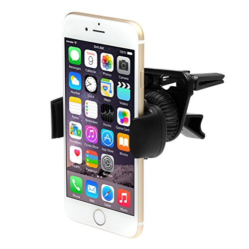 iKross Air Vent Car Vehicle Mount Holder for Samsung Galaxy S5, Galaxy Note 4, Galaxy Note 3, Galaxy Mega, LG G3, iPhone 6 and Other Cell Phone, Mega Smartphone up to 6inch Screen